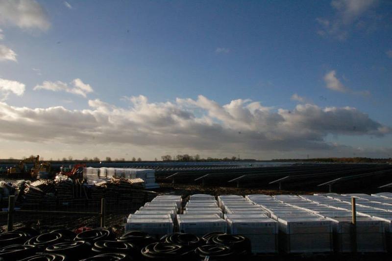 Baustelle Photovoltaik