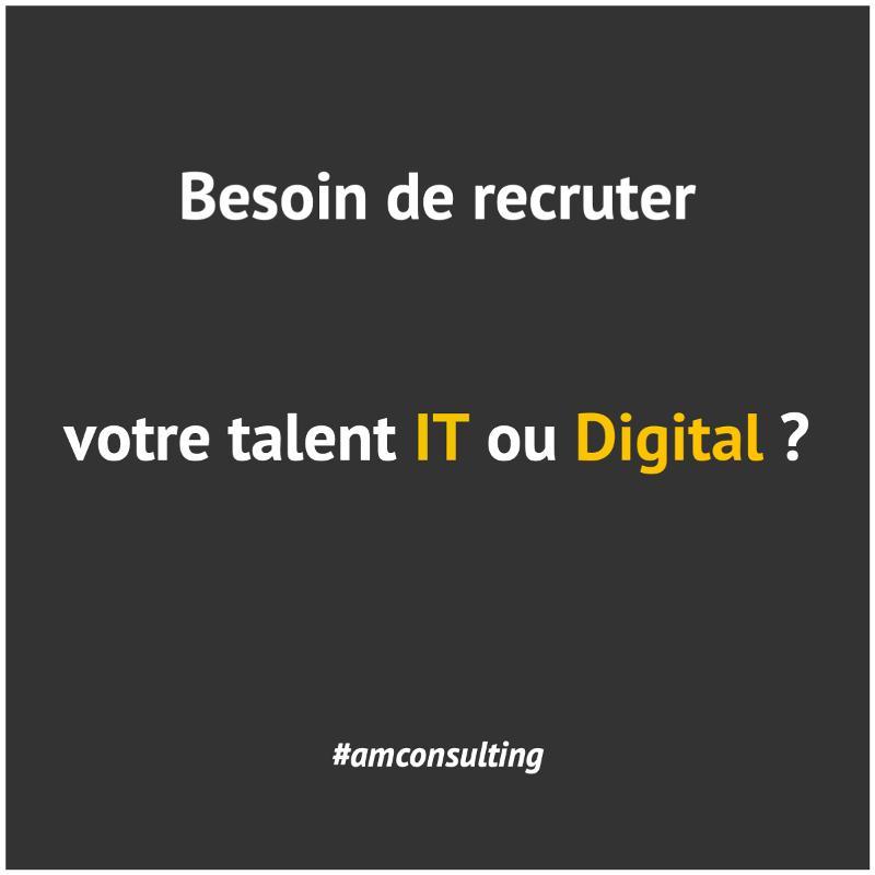 Recrutement IT et Digital