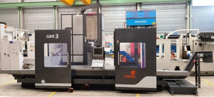 LAGUN GBR3 bed type milling machine