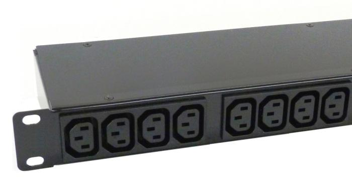 "PDU 19 "" - 1unit - 16 or 32 Amper - 16 IEC C13 outlets , cable length and plug on request"