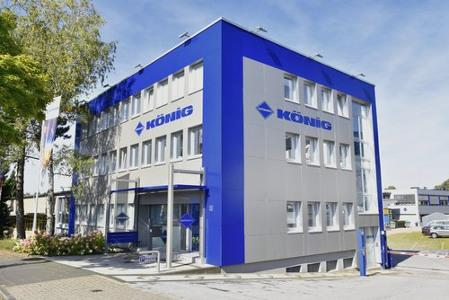 Hauptgebäude mit Empfang