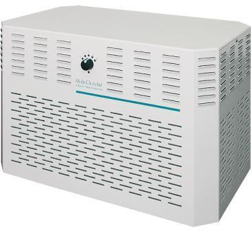 Air purification unit for cleaning room air