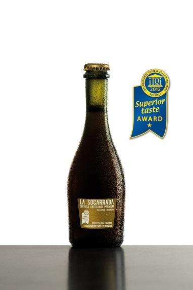 La Socarrada fue premiada en el año 2012 por el International Taste & Quality Institute en Bruselas, Bélgica como mejor cerveza artesana del mundo.