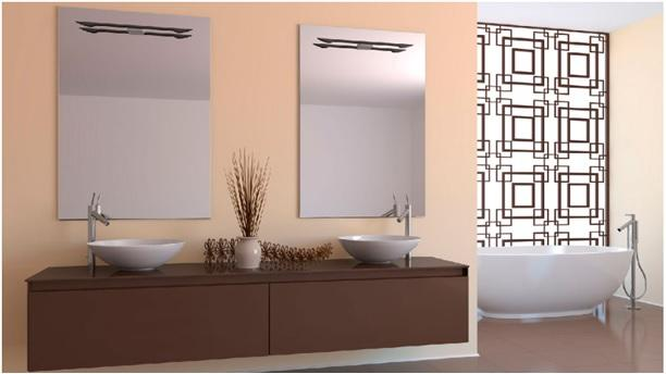 Mirrors for the bathroom and furniture