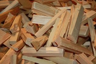 Produced from kiln dried (max. 18% moisture) soft wood (spruce) swan timber, ensuring superior product quality, which is composed of only pure wood, without bark, nails, plastic or other contaminants.