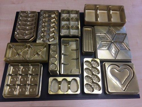 Verpackungen PET gold