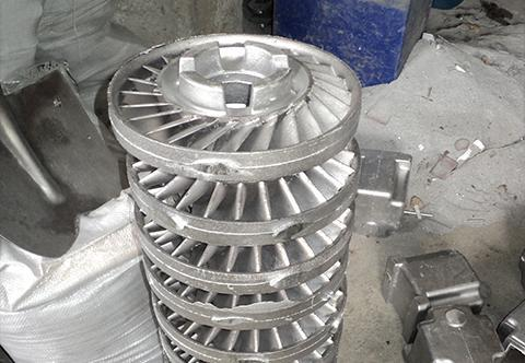 Aluminium stator