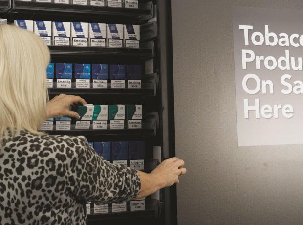 Cigarette Displays