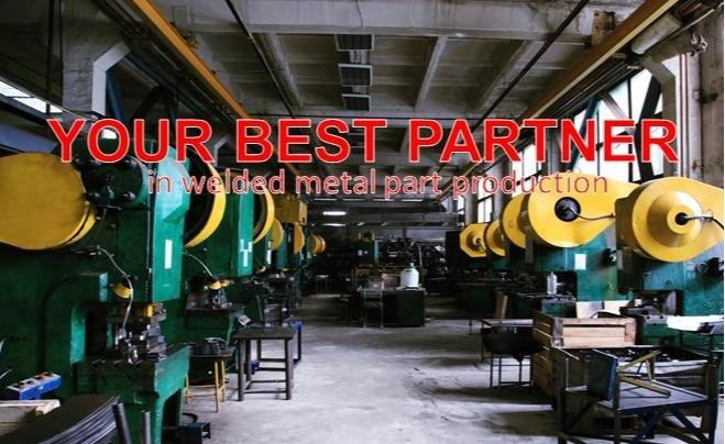 Specialized in welded metal parts