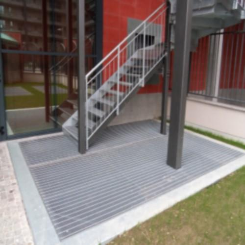 STAIRS AND GRIDDERS FOR RESIDENTIAL AREAS