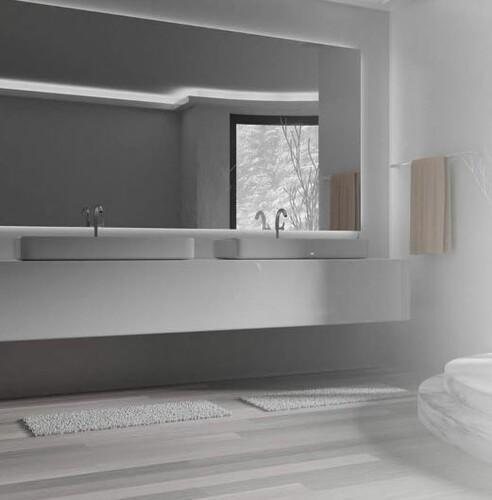 Badspiegel LED