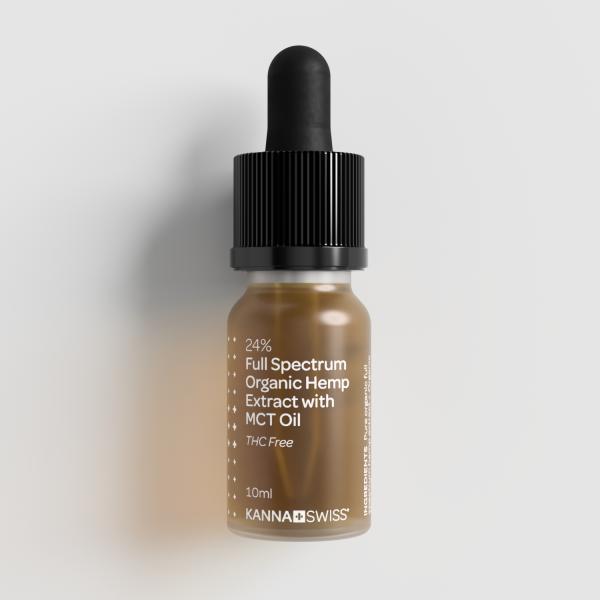 24% Full Spectrum Organic Hemp Extract with MCT Oil