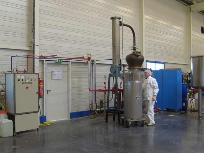 Fabrication d'arômes naturels certifiés FABSTER
