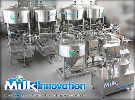 One of our ricotta production plant manufactured, able to process up to 20.000 litres per hours