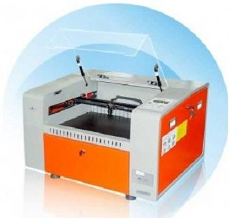 Small laser cutting and engraving machine for non metal materials.