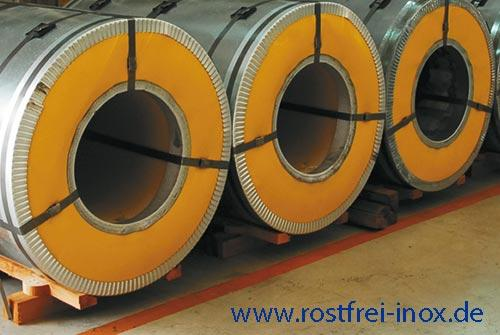 Stainless Steel Coil, rostfreies Edelstahl - Band
