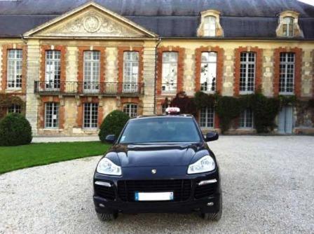 taxi Porsche cayenne