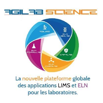 AgiLab Science® est la nouvelle plateforme globale des applications LIMS (Laboratory Information Management System) et ELN (Electronic Laboratory Notebook) pour les laboratoires.