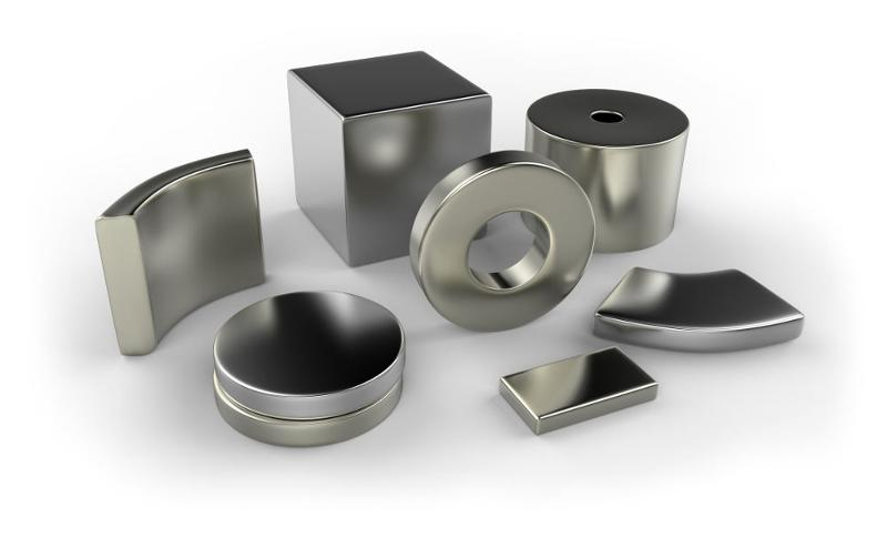 Neodymium is the latest family of permanent magnets, It is also known as NdFeB.