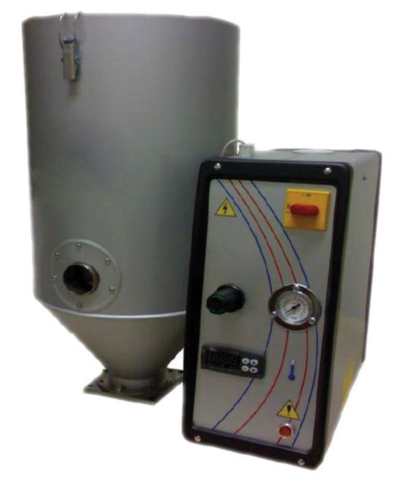 Drucklufttrockner DC für hygroskopische Kunststoffe