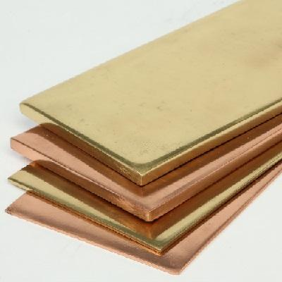 Copper and brass sheets