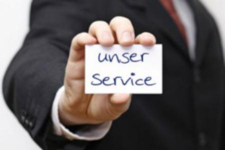Service - Ihr Produkt in besten Händen