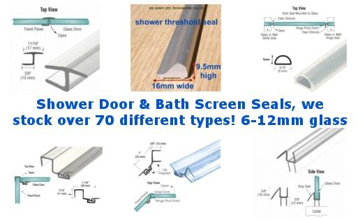 Seals for Showers or Baths
