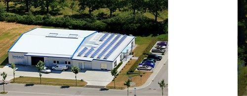 Luftbild, Gebäude