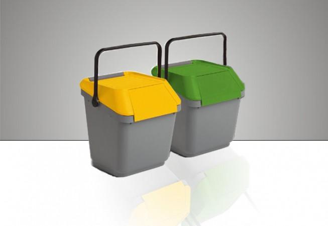 Our company offer a wide range of Containers and bins used for Kerbside Collection of Waste to be Recycled They are fully compliant with Rfid Technology of  Waste management.