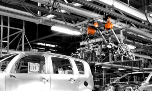 Balancer in the automotive industry