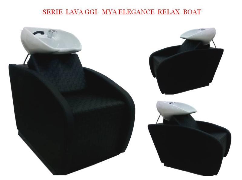Lavatesta professionale Di ottima collocazione in tutti gli ambienti , seduta confortevole ,porcellana anti goccia,Colori disponibili  di serie nero luxor,porcellana bianca .