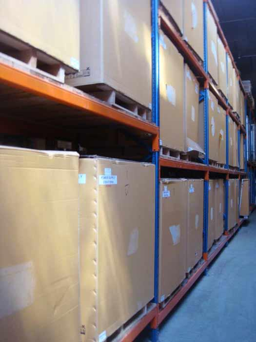 Gestion de stocks en entrepôts - service