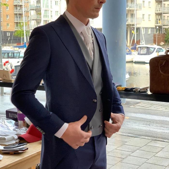 Bespoke Morning Coat - Modern