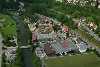 Graf Bauzentrum mit Baustoffhallen