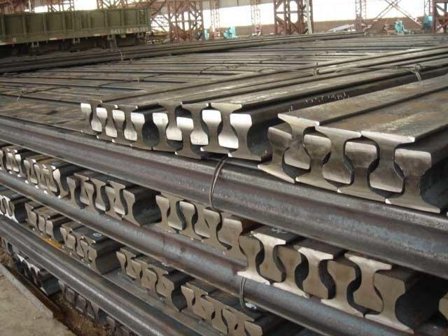 crane rails Gost KP70. 80. 100.120. 140 and DIN A75, A100, A120. Fastening elements for the rails.