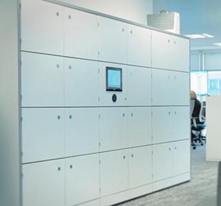 Metra electronic office lockers