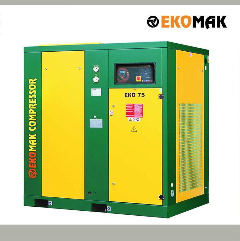 Pour répondre à l'ensemble de vos besoins en air comprimé, AIRCO vous propose une large gamme de compresseurs de 3-HP/2.2-KW jusqu'à 340-HP/250-KW