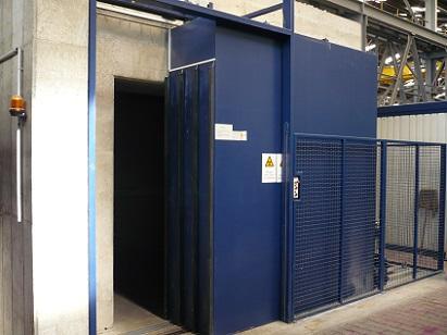 Radiation Protection Door (ground-driven)