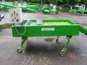 The machine for dry potato peeling is used for pre-selling preparation of potato, its delivery to the place of sale without further reprocessing.