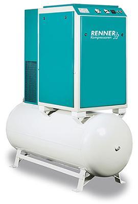 Baureihe RS Öleingespritzte Schraubenkompressoren sind die modernste und wirtschaftlichste Art der Drucklufterzeugung.Informationen: www.renner-kompressoren.de/de/produkte/druckluftprogramm.html