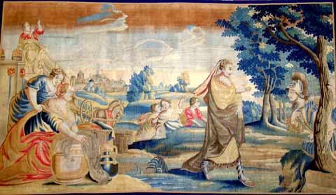 tapisserie allemande 17ème siècle