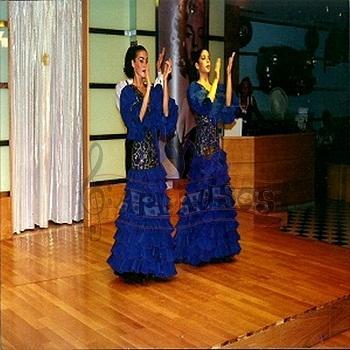 Flamenco costume