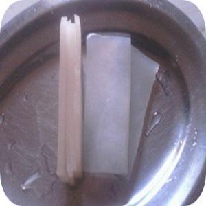 Abóbora para cristalizar
