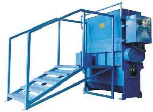 RECYLING  SYSTEM(CRESHER DE-DUSTER ,MIXER)