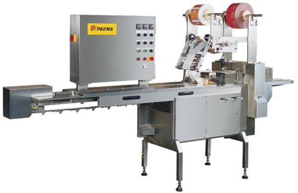 Automatic wrapping up machine