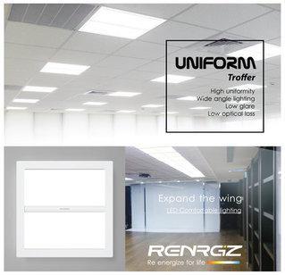 RENRGIZ Uniform Expand the wings Troffer