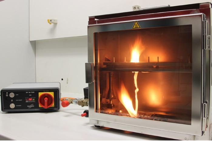 Brandverhalten - Brenngeschwindigkeit