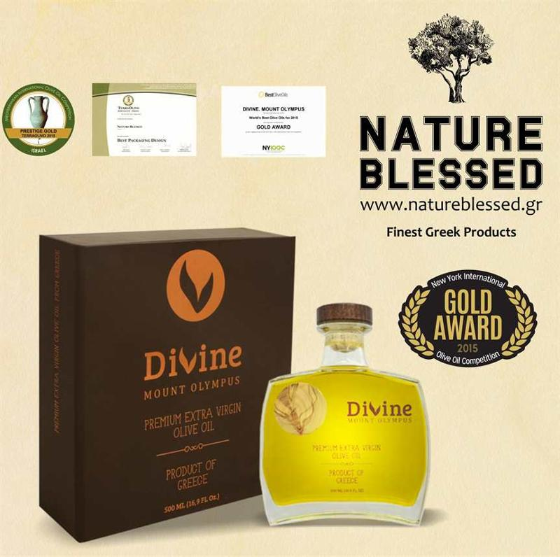The best olive oil in NYIOOC 2015            Send us an email 	                 info@natureblessed.gr