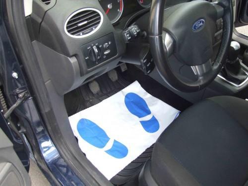 protecting plastic mat