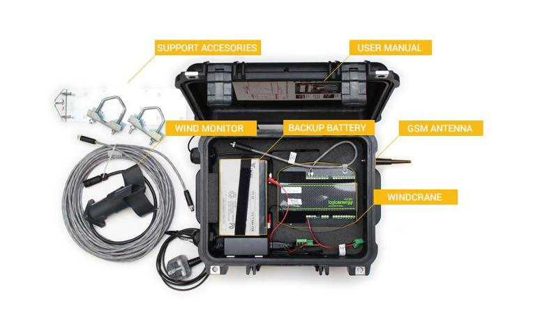 Windcrane GSM kit